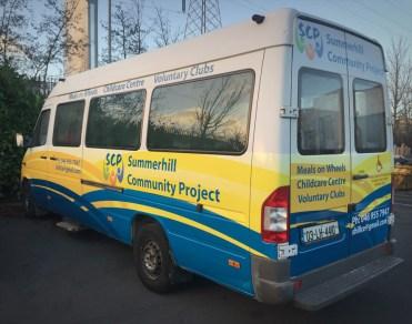 Summerhill College Bus Wrap