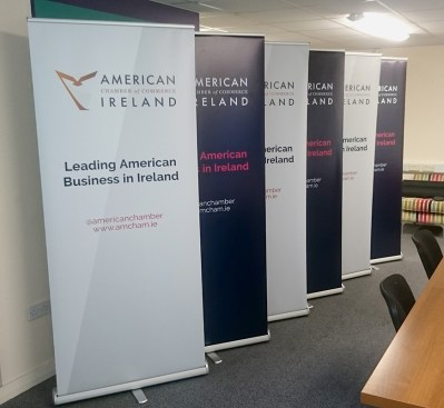 American Chamber of Commerce - Roll Up Banner