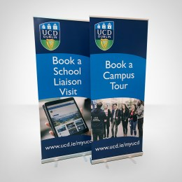 DCU Roll-up Banners