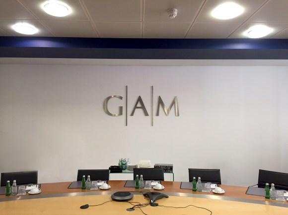 GAM Built Up Stainless Steel Lettering