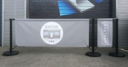 Cafe Banner / Barrier