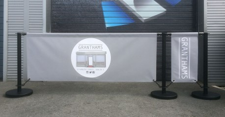 Cafe Banner / Barrier