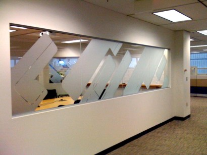 MB Office Etched Window Graphics