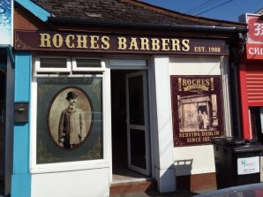 Roches Barbers Shop Front