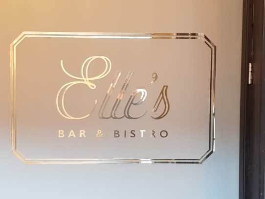 Flatcut Brass Sign