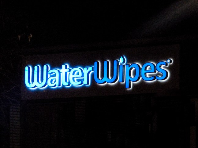 Water Wipes Exterior Signage-3
