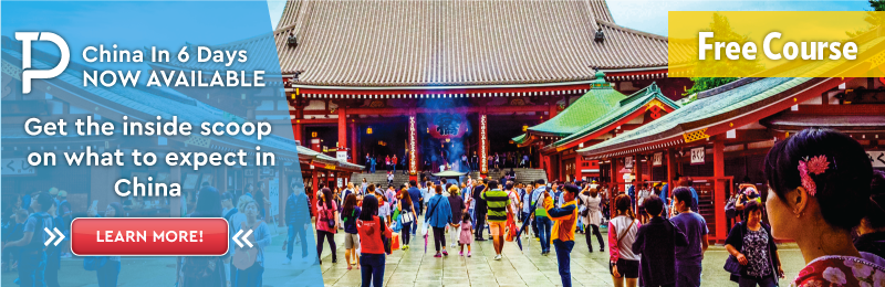 Sign up to the virtual China tour!