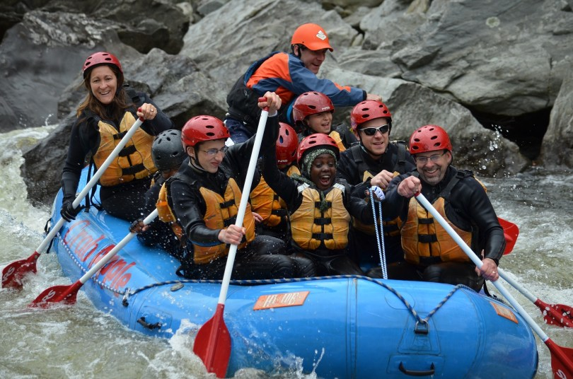 whitewater 1024x678 - 5 TEFL Destinations for Adrenaline Junkies & Thrill Seekers