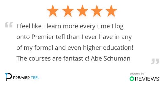 Abe review 1024x538 - Meet Abe - Living The Dream As An English Teacher Online