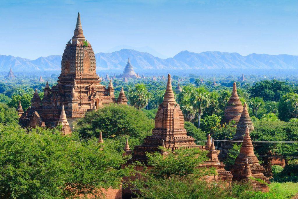 Myanmar location