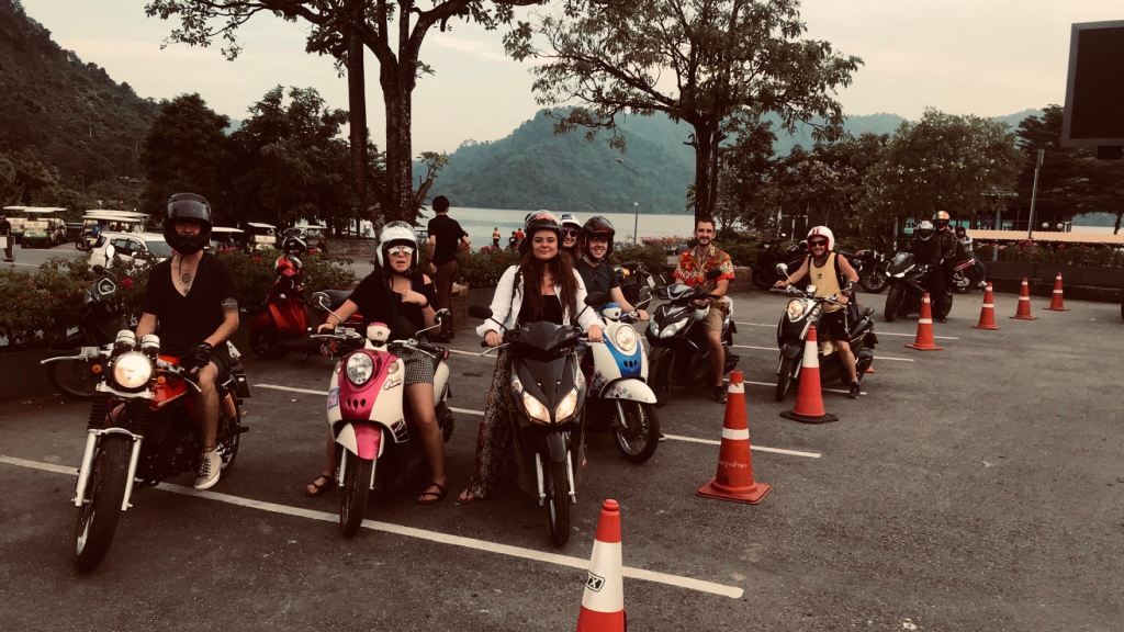 TEFL teachers on bikes in Thailand 1024x576 - Two Time TEFL Teacher! Meet Jessica Neal