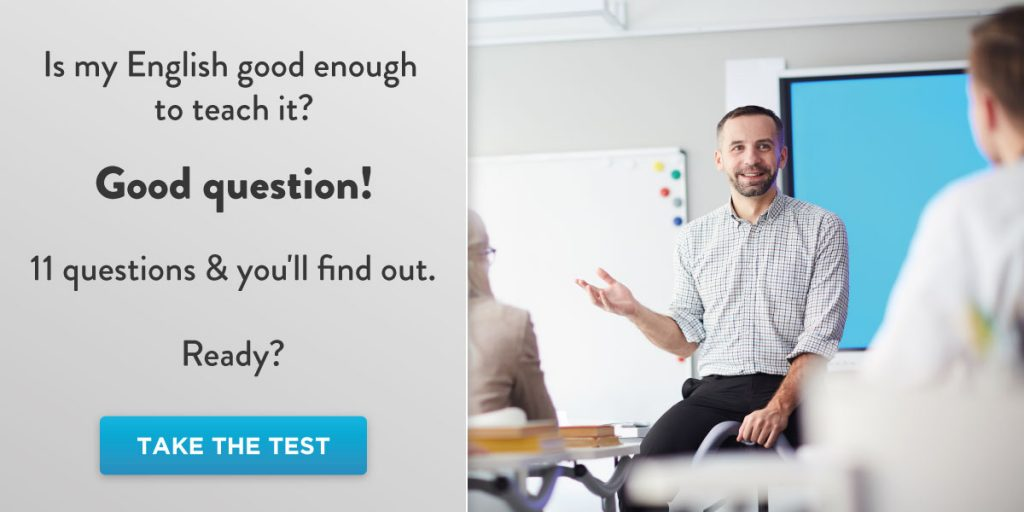 Test your English skills