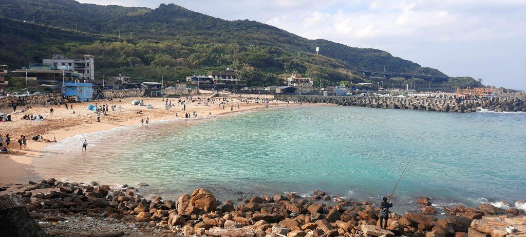 Beach in Taiwan TEFL