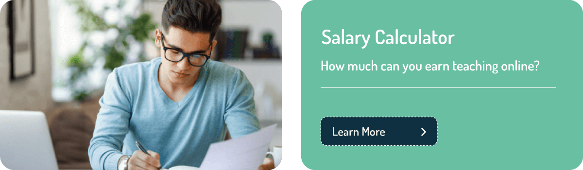 TEFL teacher salary calculator