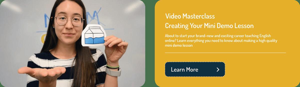 Teacher introduction video