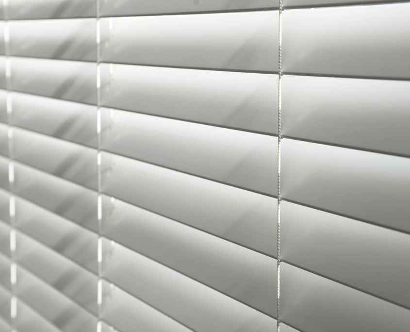 Blinds in a window