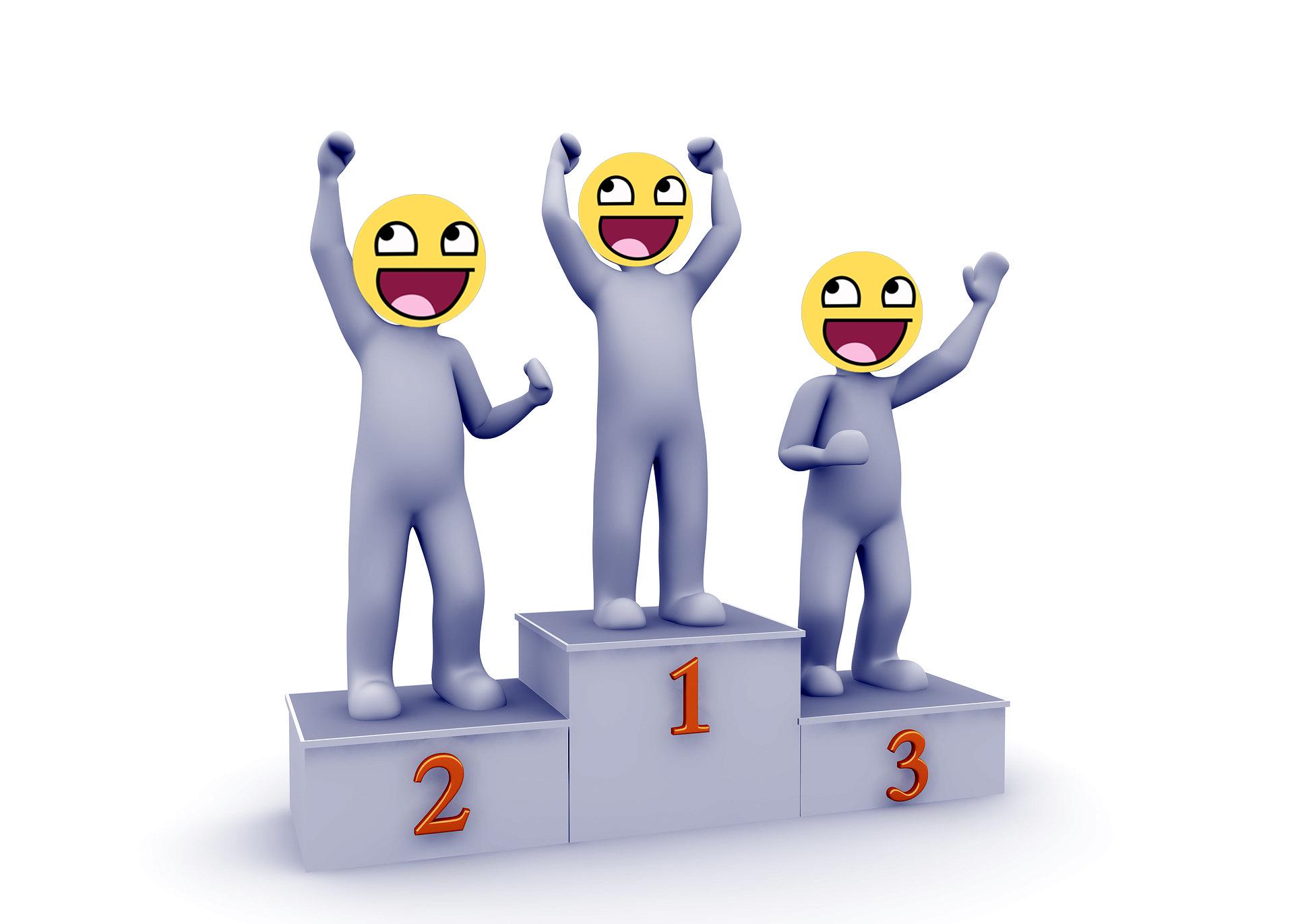 Tres premios rápidos en uno