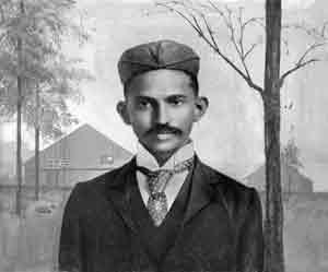 Gandhi in Sudafrica (1895)
