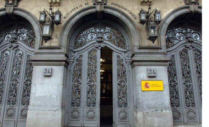 Foto portada fachada Ministerio de Educación (M. de Educación)