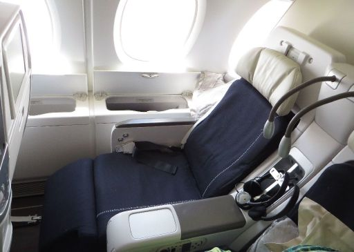 מושב במחלקת הפרימיום של Air-France