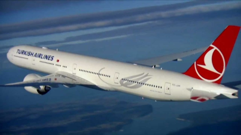 Turkish Airlines B777-300ER (Photo by Turkish Airlines)