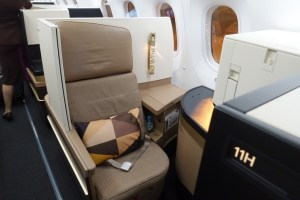 Etihad 787-9 Business Class (Photo by ThePointsGuy)