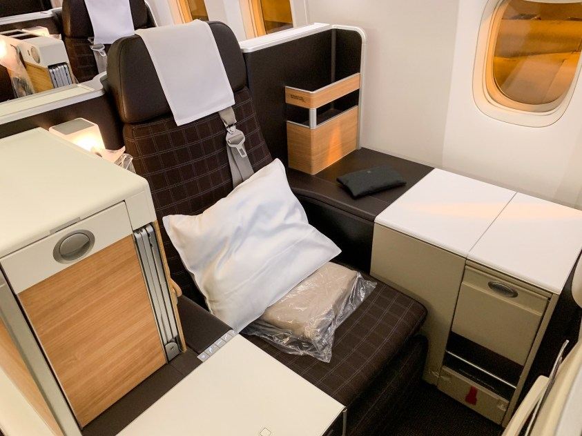 Swiss Business Class (Photo by The Points Guy)