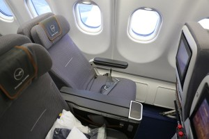 Lufthansa Premium Economy (Photo by The Points Guy)