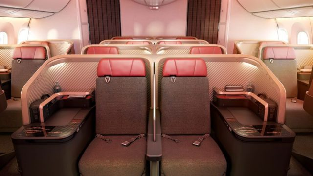 Latam new Business Class Interior