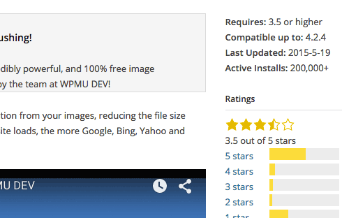 Always check how recently a plugin was last updated.