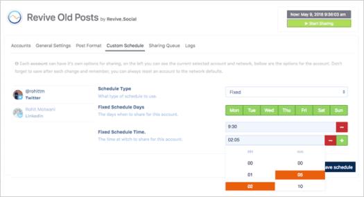 Revive Old Posts - Social media traffic plugin for WordPress.