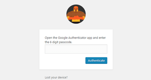 Two way authentication area for Defender.