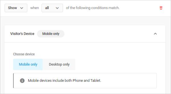 Hustle device settings