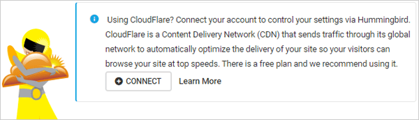 Humming and Cloudflare integration.