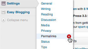 remove-permalinks-menu