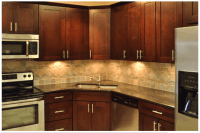 Shaker Kitchen Cabinet Hardware Style
