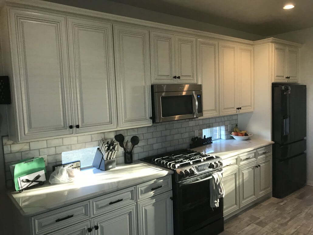 kitchen cabinets houston area espresso and white premium