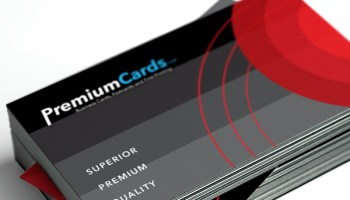 Brown kraft business cards 18pt premiumcards 32pt triplex business cards colourmoves