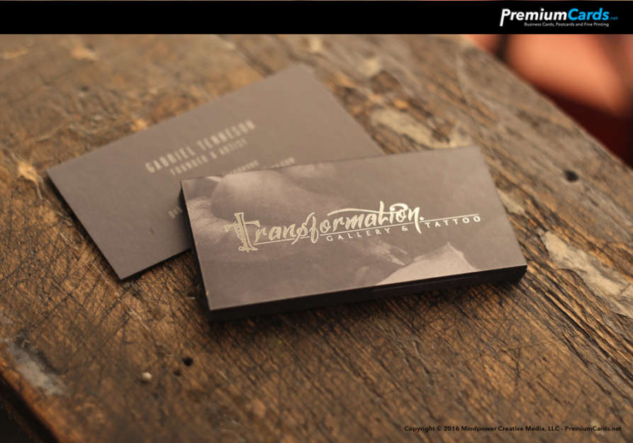 Silk and Foil Business Cards 16pt | | Premium Business Cards ...
