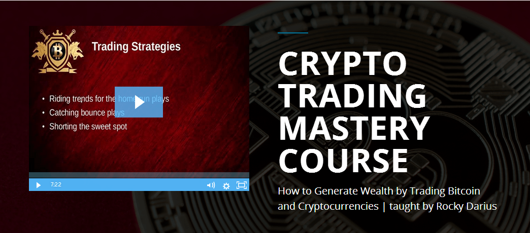 Cryptocurrency Trading Mastery course