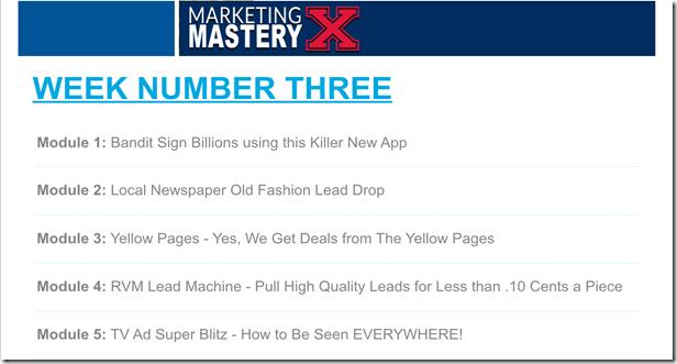 Marketing Mastery X