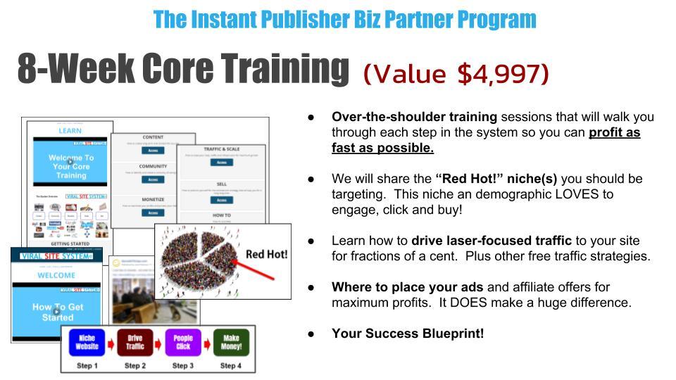 8 week core training