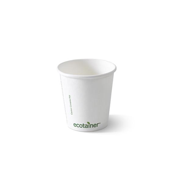 Biologisch afbreekbare koffiebeker 180cc