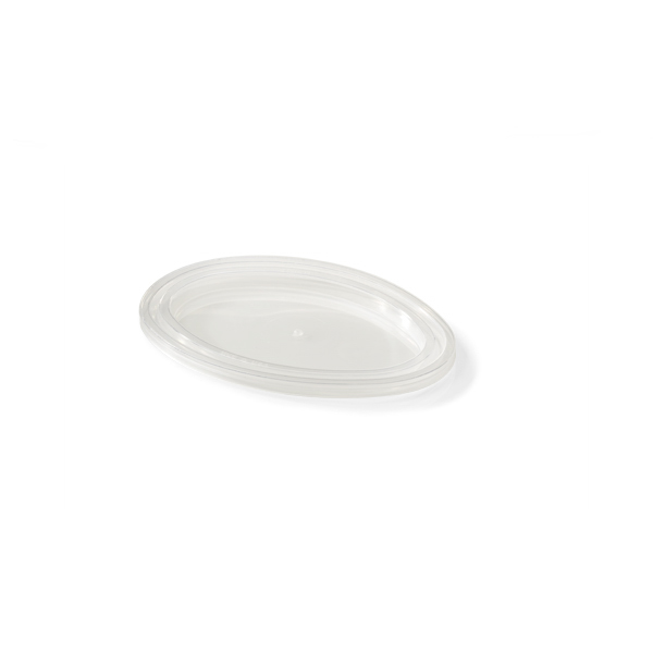 Oval portion deksel voor de oval portion cups 100cc