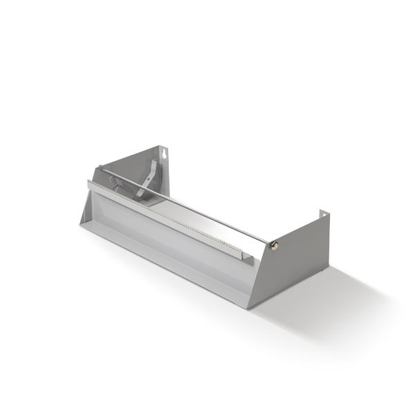 Dispenser voor de navulrollen vershoudfolie met een lengte van 30cm