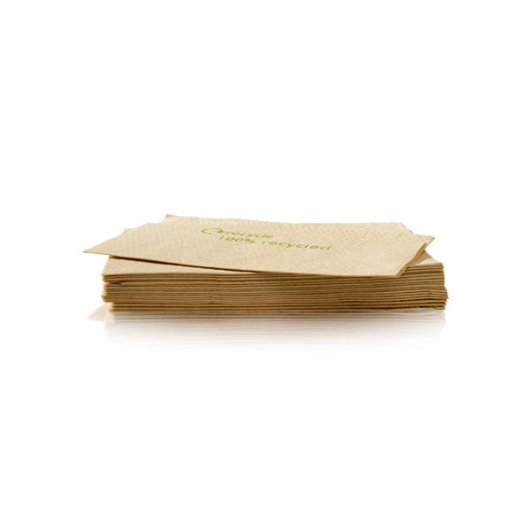 Servetten nova vouw van kraft papier novavouw
