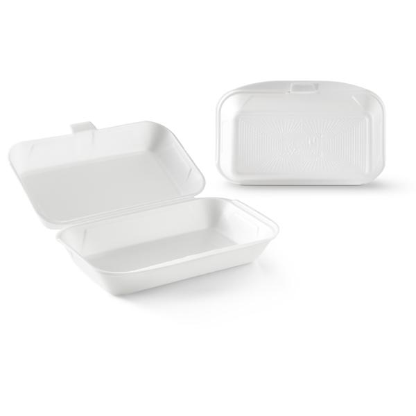 Witte foam loempia box