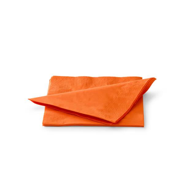 Servet 33x33cm 2 laags oranje