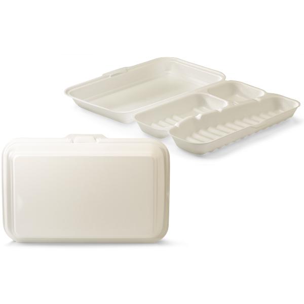 Menubox foam 3 vaks wit