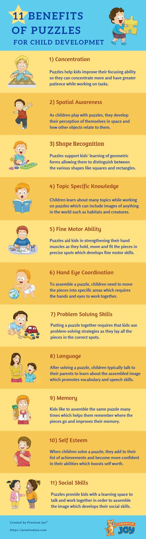 11 Advantages of Puzzles for Your Child's Development